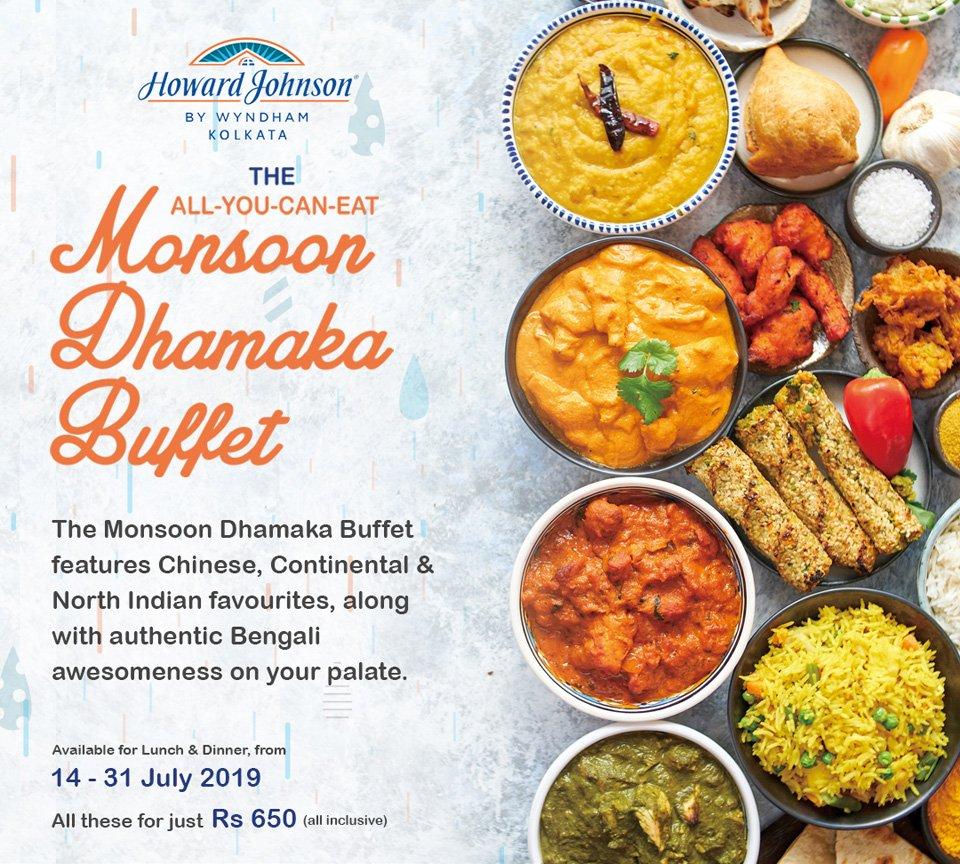 Kolkata-Food-Festival-2019-The-Monsoon-Dhamaka-Buffet-at-the-Nest