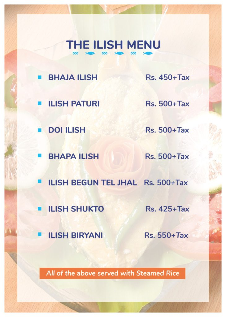 Ilish-Special-Menu-2019-Howard-Johnson-Kolkata-August-2019