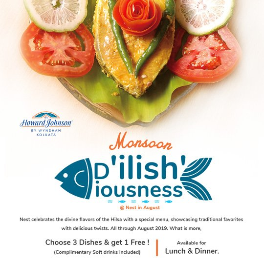 Hilsa Ilish Special Monsoon Menu 2019