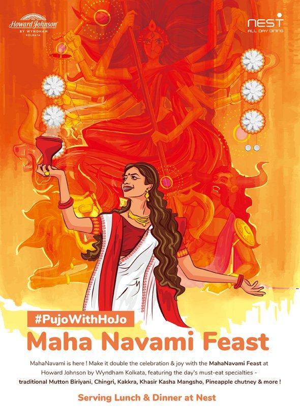 Maha Navami Lunch Dinner Durga Puja Offer