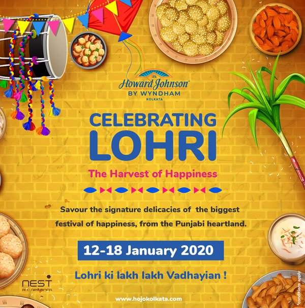 Celebrating Lohri Food Festival in Kolkata