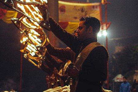 Durga Pooja Celebration during Durga Pooja in Kolkata